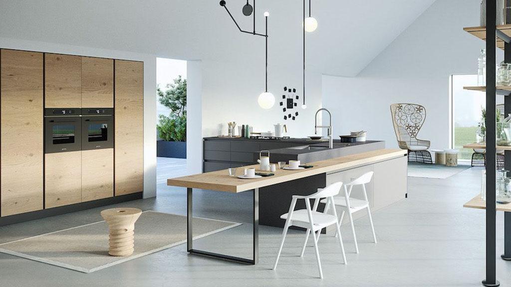 vendita-cucina-cucine-brescia-milano-bergamo-moderna-rovere-impiallacciato-nodato-parti-laccate-opache-1024x576